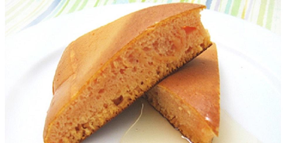 トマトのパンケーキ